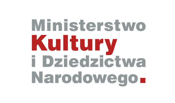 Logotyp Ministerstwa Kultury i Dziedzictwa Narodowego | Ministry of Culture and National Heritage of the Republic of Poland logo